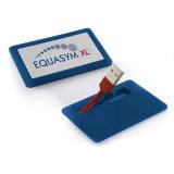 Mini Portable Pen Drive Card Shape USB Flash Drive for Business Gift