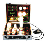 LED Light Bulb Display Demo Case Tester with Lux