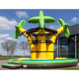 Palm Tree Inflatable Climbing Race Game