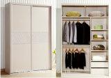 Customized Wood Bedroom Sliding Wardrobe Closet (HH2011-1.6)