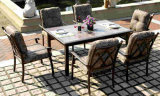 Patio Table with Removable Tiles Set Furniture