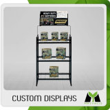 Wood Car Accessory Display Stand