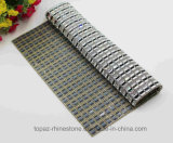 Hot Fix Crystal Sticker Heat Transfer Rhinestone Mesh (MESH-24*40cm)