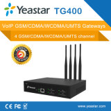 4 GSM/CDMA VoIP Gateway Support SMS and Carrier Selec