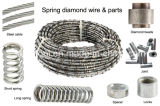 Diamond Wire Saw and Beads for Wet and Dry Cutting of Marble Limestone Travertine