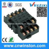 General Purpose Connecting Electric Contact Protected Relay Socket with CE