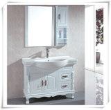 Pine Wood Bathroom Vanity with Mirror