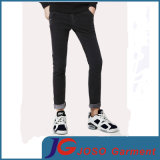 Leisure Black Fitted Skinny Jeans for Men (JC3403)