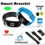 Wristband Sport/Smart Bluetooth Bracelet with Heart Rate Monitor V7