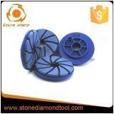 125mm Diamond Resin Edge Grinding Polishing Pad for Stone