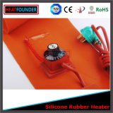 Drum Silicone Rubber Heater Sheet with Thermostat