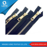 European 4# Brass Metal Zipper for Shoes