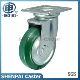 Japan Style Steel Core Rubber Swivel Caster Wheel