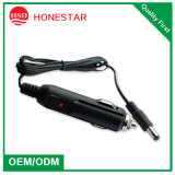 12V DC 5.5mm X 2.1mm Car Cigarette Lighter Power Supply Adapter Cable for Electronics and LED Strip