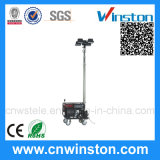 Wireless Remote Control Mobile Light Tower with CE