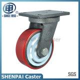 Heavy Duty Iron Core PU Swivel Industrial Caster Wheel