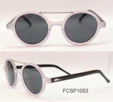 New Fashion Injection Woman Sunglasses with Acrylic Lens