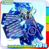 loyalty system printed Customized size plastic key tag