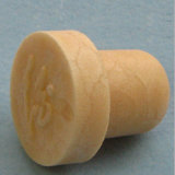19.3mm Plug Diameter Natural Synthetic Wine Cork Stopper