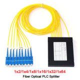 1X8 ABS Box Optic Fiber PLC Splitter