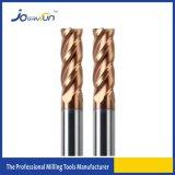 HRC55 4 Flutes Solid Carbide Corner Radius Carbide Insert