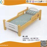 Kindergarten Children Wooden Double Beds