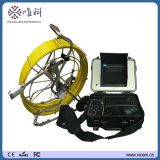 100m Push Cable Industrial CCTV Video Inspection Camera 50mm Self-Leveling Camera Waterproof Underground Pipe Camera