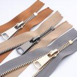 Brass Copper Metal Teeth Zipper