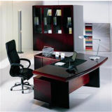 Solid Wood Excutive Desk (PS-045)