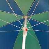 Promotion Beach Umbrella with 190t Plolyester in Heatransfer Printing (xs101)