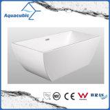 Bathroom Pure Acrylic Seamless Freestanding Bathtub (AB6503)