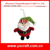 Christmas Decoration (ZY14Y05 14CM) Santa Claus Toy Christmas Supplies