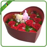 Heart Shape Flower Gift Box for Valentine′s Day