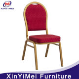 Stackable Aluminum Metal Hotel Restaurant Dining Banquet Chair (XYM-L23)
