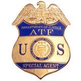 Custom Us Metal Badge for Souvenir (QC-010)
