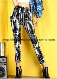 Leisure Harem Trousers, Personalized Graffiti Trousers
