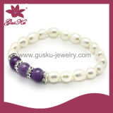 Chinese Freshwater Pearl Bracelet (2015 Plb-003)