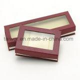 Taiwor Customized PVC Window Book Style Paper Gift Box
