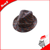 Winter Hat 100%Cotton Yarn Hat Fedora Hat