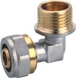 Male Thread Brass Compression Elbow with High Quanlity (YD-&⪞ aret; 059)