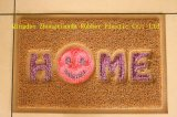 3G New Design Double Color Door Mat with Griding Back