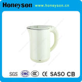 Hotel Electricial Water Kettle with White Color and Double Body Finishing