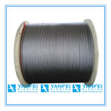 6X36FC Steel Wire Rope Cable