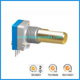 8mm Incremental Encoder with Swith for Radio Interphone Audio Equipment