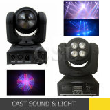 Double Face LED Mini Moving Head Beam Wash Light