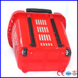 (YD-B7 45L) Plastic Shopping Basket with Wheels with Factory Sale
