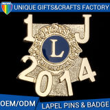 2017 Hottest Sale OEM Customize Metal Badges Soft Enamel Pins