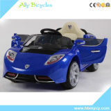 New Remote Control Four-Wheel Double Drive Swing Sittable Children′s Electric Car