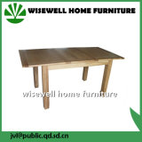 Solid Oak Wood Extension Dining Table