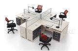 Hot Sale Durable 4-Seats Office Station Wholesale Moern Desk (SZ-WS118)